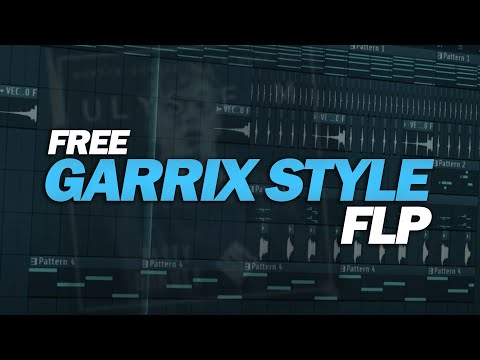 Martin Garrix Style FLP: by Ulysse M & WildVibes [Only for Learn Purpose / NOT free to Use!] (видео)