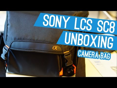 Sony LCS - SC8 Kameratasche - Unboxing (w/ Eng Subs)
