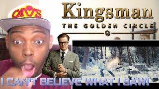 Video KINGSMAN 2: The Golden Circle Red Band Trailer 2 REACTION!!! MP3, 3GP, MP4, WEBM, AVI, FLV Juli 2017