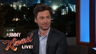 Video Zach Braff's Unbelievable Dinner with Al Pacino MP3, 3GP, MP4, WEBM, AVI, FLV Maret 2018