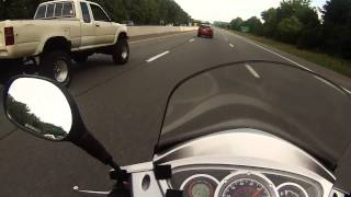 9. Highway ride on a kymco peoples 125