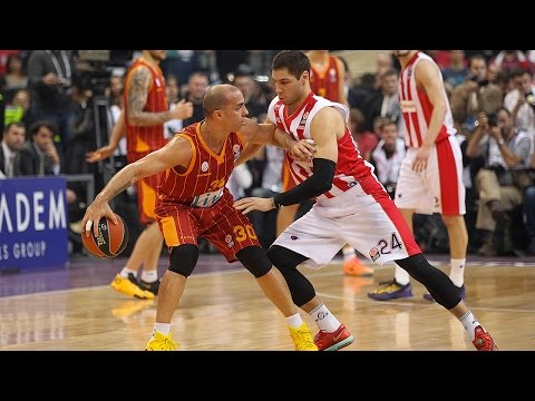 Highlights: Crvena Zvezda Belgrade-Galatasaray Liv Hospital Istanbul