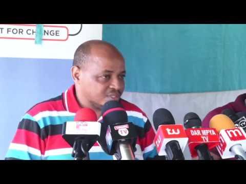 BREAKING: CHADEMA wanaongea na Waandishi wa Habari