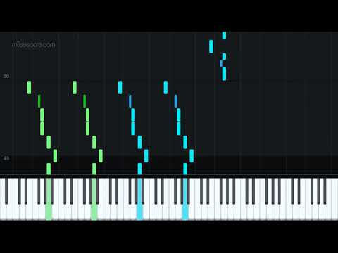 Carol of the Bells by Trans Siberian Orchestra [Piano Tutorial + Sheet music]