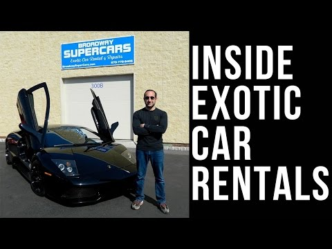 Behind the Scenes of an Exotic Car Rental Business