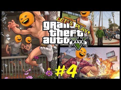 Annoying Orange Plays - GTA #4