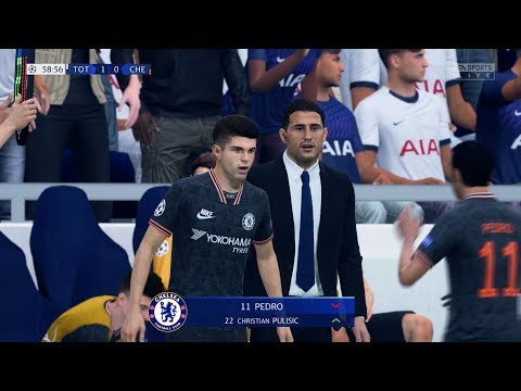 FIFA 20 | Tottenham vs Chelsea - UEFA Champions League (Full Gameplay)