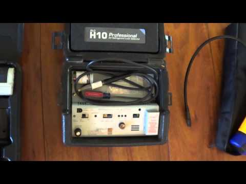 how to use hvac leak detector