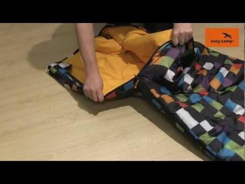 Відеоогляд спальника Easy Camp COMIC Pixel