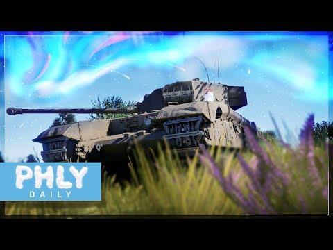 BRITISH BIAS   Black Prince ft.SABOT (War Thunder Gameplay) (видео)