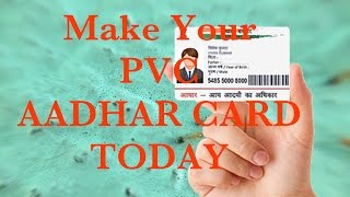 Aadhar Card (PVC). How you can apply for Aadhar card (PVC) like an ATM.This video is to show the step for applying for PVC Aadhar card.Watch the video and follow the step for applying.For applying Click on this link  https://www.janaadhaar.com/If you get the content helpful then like the video, share the video, ask your friend to apply, and Subscribe my Youtube channel for awesome videoIf you have any confusion the comment below.Flipkart app download for shopping- http://affiliate.flipkart.com/install-app?affid=rohitkrga