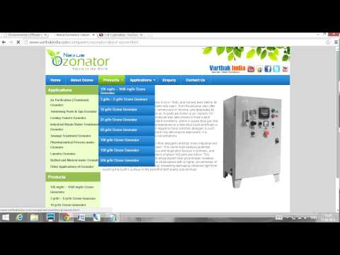Nexus Ozonators ozone generators for water air purification treatment in Hyderabad India
