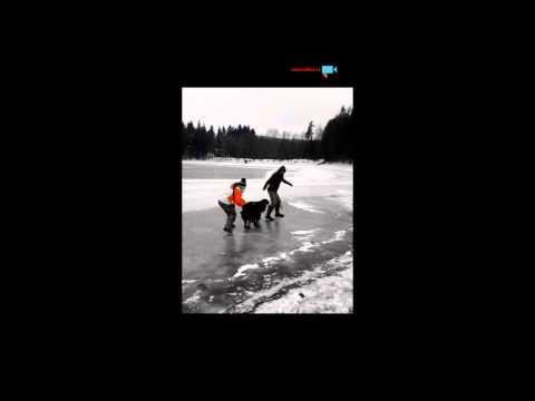 Klouzání na ledě
