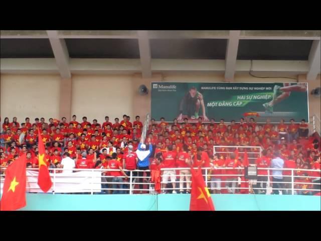 Các động tác cổ vũ đội tuyển bóng đá U19 Việt Nam, háo hức quá mọi người ạ!
