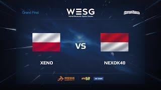 nexok40 vs Xeno, game 1