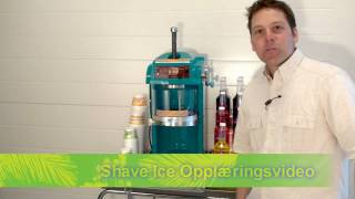 Shave-ice opplæringsvideo