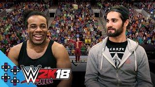 Video WWE 2K18: SETH ROLLINS & AUSTIN CREED take on THE NATURAL DISASTERS! - UpUpDownDown Plays MP3, 3GP, MP4, WEBM, AVI, FLV Juni 2018