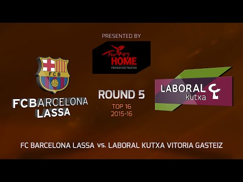 Highlights: Top 16, Round 5, FC Barcelona Lassa 78-81 Laboral Kutxa Vitoria Gasteiz