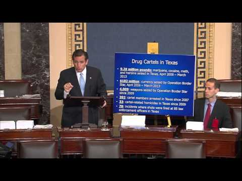 Video: Sen. Ted Cruz Speaks in Opposition to Gang-of-Eight Immigration Bill