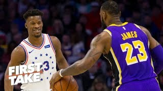 Video Jimmy Butler is a perfect fit with LeBron, Anthony Davis on the Lakers – Max Kellerman | First Take MP3, 3GP, MP4, WEBM, AVI, FLV Juni 2019
