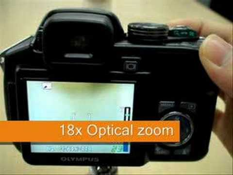 Olympus SP560 UZ - demonstration video