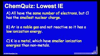 Lowest IE  (Quiz)