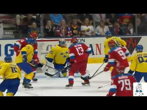 РОССИЯ – ШВЕЦИЯ  1-2 ~ ХОККЕЙ ~  КУБОК МИРА 2016  ~ ОБЗОР МАТЧА [HD] ~ 18.09.2016 (видео)