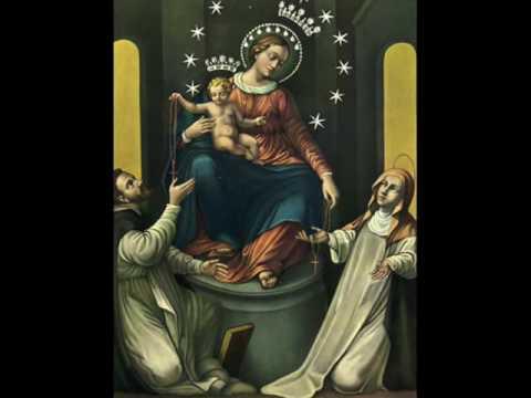 fatima - madonna del rosario e corona del rosario