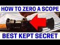 Optically Center Your Scope Before Sighting In Your Scope