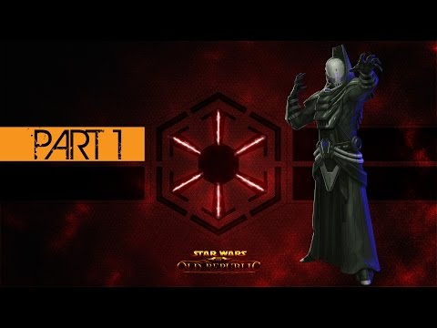 Star Wars The Old Republic Sith Inquisitor Gameplay Walkthrough Part 1 – Korriban Training