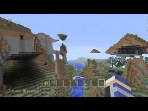 Minecraft Xbox360 - Impresionante *1* Semilla/seed 1.8.2 - Professor Layton