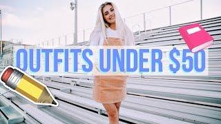 10 Back to School Outfits Under $50! | Aspyn Ovard by Aspyn Ovard