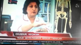 Dr. İradə Hacıyeva ATV xəbər programında