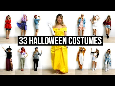 33 Last Minute DIY Halloween Costumes Ideas!