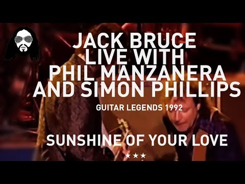GUITAR LEGENDS 1992 Jack Bruce  Live  with Phil Manzanera  and Simon Phillips 1992