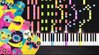OMFG - Hello - IMPOSSIBLE REMIX (No Drums Version)  Ноты и М�Д� (MIDI) можем выслать Вам (Sheet musi