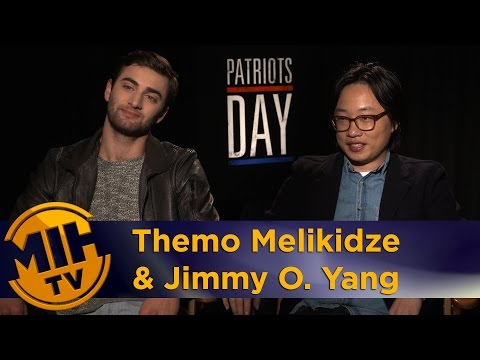 "Themo Melikidze & Jimmy O. Yang Interview ""Patriots Day"" And Movie Review"