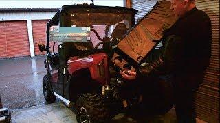 6. Installing Stock rear cargo box 2019 Yamaha Wolverine X2 R-spec