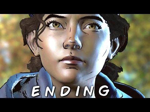 The Walking Dead: A New Frontier *6* - Clementine Loses Finger - Kiss Kate - Leave with Family