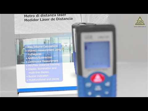 Видео Лазерный дальномер LDM-100 из ударопрочного пластика
