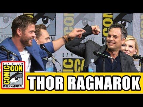 THOR RAGNAROK Comic Con Panel News & Highlights