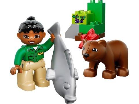 Vidéo LEGO Duplo 10576 : Le repas de l'ours brun