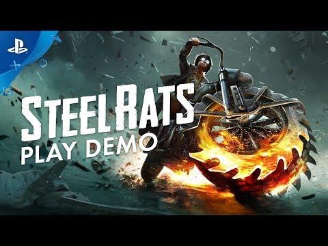 Steel Rats - Play Demo | PS4 - Thời lượng: 96 giây.