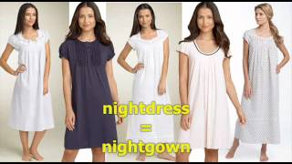 Clothes Vocabulary part 3, Videos for beginners