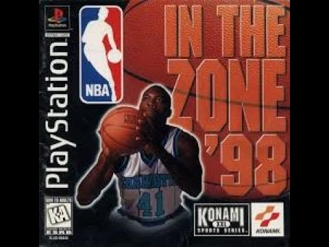 NBA in the Zone '98 Playstation