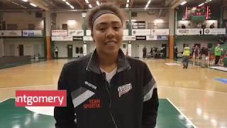 Intervju med Brandy Montgomery efter Telge – Visby Ladies