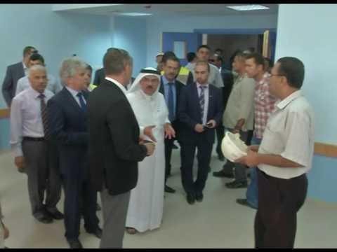 لقاء سعادة السفير محمد العمادي مع نيكولاي ملادينوف مبعوث عملية السلام