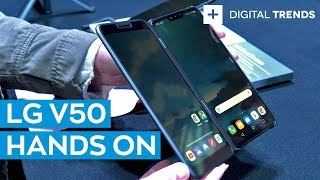 Hands On: LG V50 ThinQ 5G