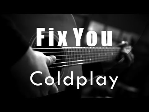 Fix You - Coldplay ( Acoustic Karaoke )