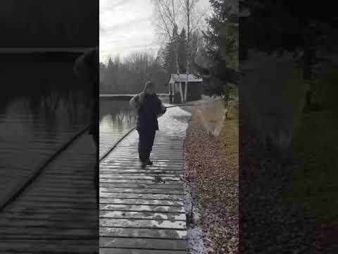 Видеоотчет о рыбалке за 20 октября 2021 г.